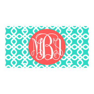 Personalized Mint Diamond License Plate