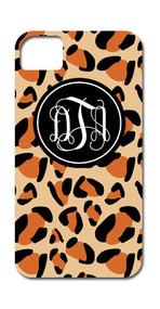 Hard Case Phone Cover - Leopard
