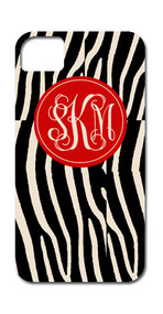Hard Case Phone Cover - Zebra