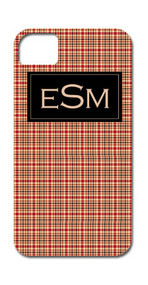 Hard Case Phone Cover - Rusty Plaid
