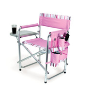 Sports Chair - Pink with Stripes