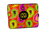 Groovy Paisley iPad and Laptop Cases