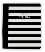 Black and Khakis Stripes iPad Jackets