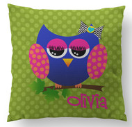 Owl Custom Designer Pillows