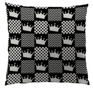 Black Crown Custom Designer Pillows
