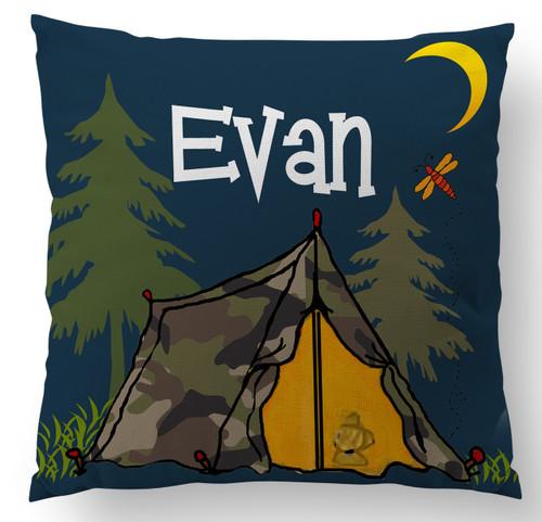 Tent Life Custom Designer Pillows