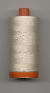 Aurifil 50wt mako cotton - 2000 light sand - 1300m