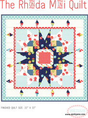 Rhonda Mini Quilt - Digital Pattern