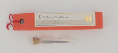 Miliners Needles Straw #9