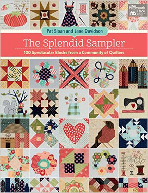 The Splendid Sampler - Soft Cover  Paperback: 144 pages Publisher: That Patchwork Place (April 18, 2017) Language: English ISBN-10: 1604688092 ISBN-13: 978-1604688092 Product Dimensions: 8.4 x 0.8 x 10.9 inches