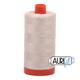 Aurifil 50wt mako cotton - 2310 light beige - 1300m