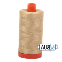 Aurifil 50wt Cotton 1300m - Very light brass 2915