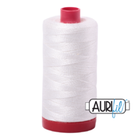 Aurifil 50wt Cotton 1300m - Natural White 2021