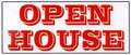Open House  Ready-Made 3'x7' Banner