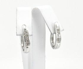 41000728 14K White Gold Diamond Earrings