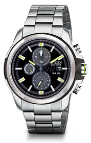 Citizen Men's DRIVE From Citizen Eco-Drive AR 2.0 Stainless Steel Chronograph Watch 60000721