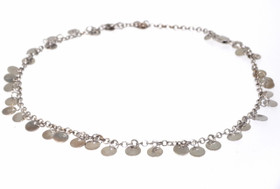 14K White Gold Anklet 22000172