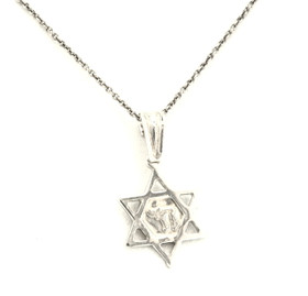 Sterling Silver Star Of David Charm 85010304
