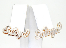 "14K Two Toned ""Satoya"" Earrings 43300021"