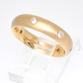 14K Yellow Gold 0.24 CTW Diamond Wedding Band 11001460