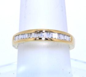 14K Yellow Gold Diamond Wedding Band 11003883