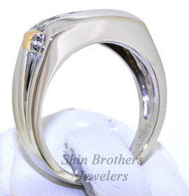 14K White Gold 0.50 CTW Diamond Ring 11003889