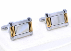 Colibri Two Tone Stainless Steel Cufflinks 70000117