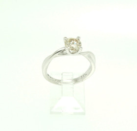 14K White Gold 0.99ct. Diamond Engagement Ring