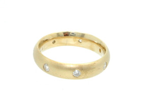 14K Yellow Gold Diamond Band 11001456