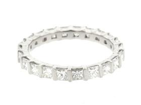 Platinum  Diamond Eternity Wedding Band 11004029-R