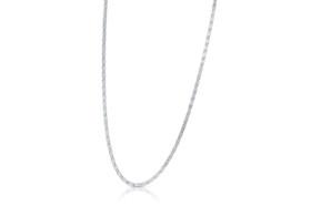 "14K White Gold 16"" Fancy Mariner Link Chain 30001660"