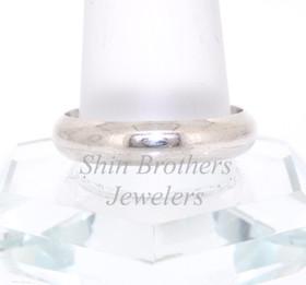 Sterling Silver Plain Wedding Band 81010313