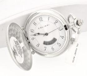 Colibri Silver Tone Pocket Watch 70000016