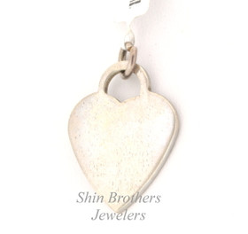 Sterling Silver Heart Charm 80000233