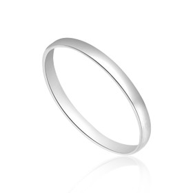 14K White Gold Wedding Band   10017020