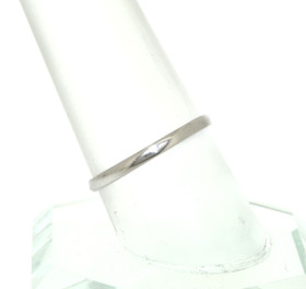 14K White Gold Wedding Band  10017015
