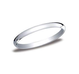 14K White Gold 2mm Wedding Band 10017041