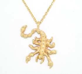 14K Yellow Gold Scorpion Zodiac Charm 50002952