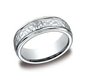 14K White Gold 6mm Wedding Band 10017096