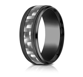 Black Titanium 9mm Wedding Band 11510004