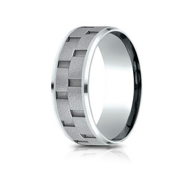 Cobalt Chrome 8mm Wedding Band 11510011