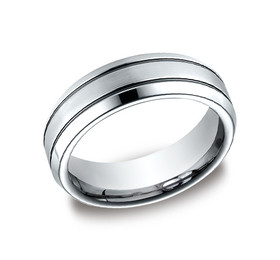 Cobalt Chrome 7mm Wedding Band 11510006
