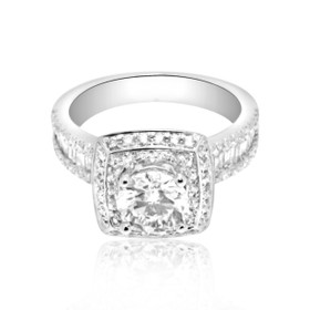 18k White Gold 1.15 ct Diamond Engagement Ring