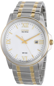Citizen Men's BM7264-51A Eco-Drive Two-Tone Watch 60000907