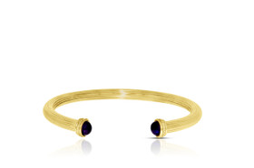 14K Yellow Gold Amethyst Cape Cod Bracelet