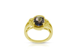 14K Yellow Gold Bi-Color Tourmaline Ring  by Shin Brothers INC. 12002595