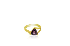 14 Karat Yellow Gold Pink Tourmaline Ring 12002579