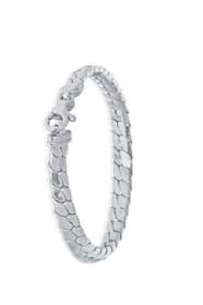 14K White Gold Snake Bracelet 20000746