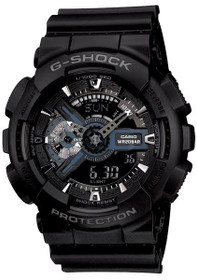 Casio G-Shock GA110-1B Military Series Watch Black