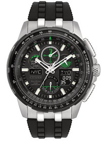 Citizen Eco-Drive JY8051-08E Mens Skyhawk A-T World Time Watch by Shin Brothers Jewelers Inc.
